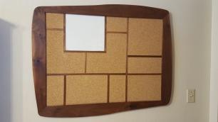 Geometric corkboard