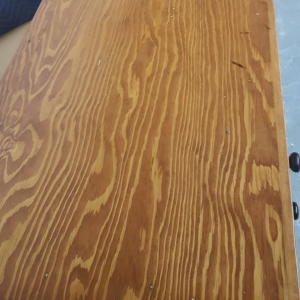 Salvaged Doug Fir Desk